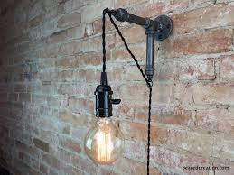 Wall Sconce Installation Industrial Wall Sconce Pendant Edison Hanging Lamp Edison