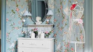deco chambre shabby quels motifs pour un style shabby chic papier peint fleuri