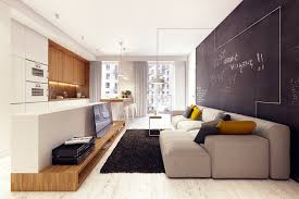 Contemporary Apartment With Quirky Details By Jan Wadim Poland - Contemporary apartment design