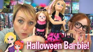 halloween barbie and chelsea dolls review youtube