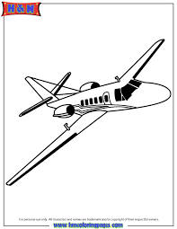 private jet coloring u0026 coloring pages