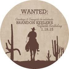 2 excellent best design cowboy party invitations cards