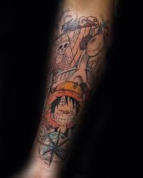 one piece compass tattoo cool simple one piece tattoos golfian com
