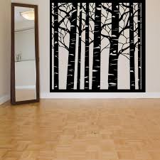 vinyl wall decal birch tree wood forest large mural art wall tree vinyl wall decal birch tree wood forest large mural art wall sticker tree wall sticker living