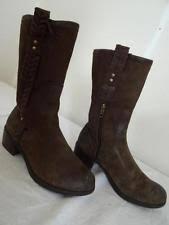 ugg australia s jaspan boots ugg australia s 100 leather pull on block boots ebay