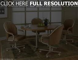 dining room chairs with rollers dining table sets with rolling chairs best chair decoration
