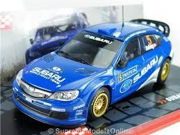 subaru hatchback custom rally subaru impreza rally car model mills 1 43rd size hatchback version