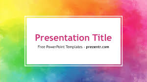 powerpoint design colors free color powerpoint template prezentr ppt templates