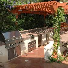 cabinets coziest space for outdoor kitchen designs near the house