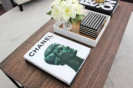 chanel coffee table book simple in small home decor inspiration