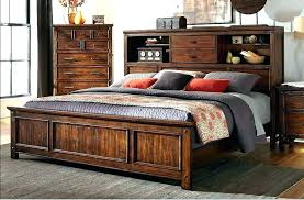 Bookcase Headboard King Bed With Shelf Headboard Size Headboard With Shelves