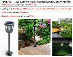 Brightest Solar Landscape Lighting - pillar lamp garden lighting pole light 12v brightest solar pathway