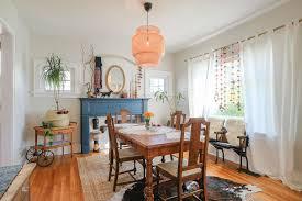 Bohemian Dining Room by Portfolio Emilia Decor Social Impact Design U0026 Decor Portland