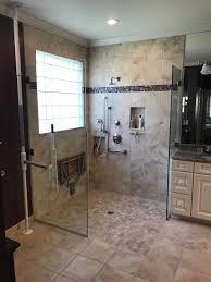 Shower Stall As Partitions Custom Frameless Shower Doors Medford Lakes Nj
