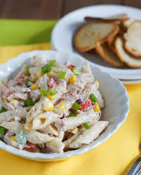 Pasta Salad Mayo tuna and penne pasta salad smart little cookie