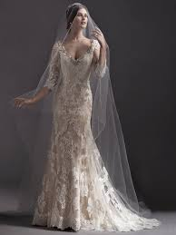 sleeved wedding dresses from sottero and midgley love maggie