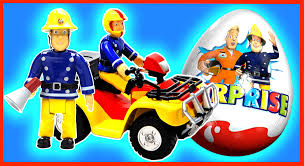 sam le pompier fireman sam jouets oeufs surprise fireman sam toys