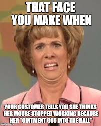 Help Desk Meme - meanwhile back at the help desk imgflip