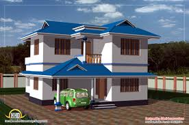 Small Duplex Plans Duplex House Design 1450 Sq Ft Kerala Home Design And Floor Plans