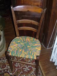 rempailler une chaise chaise à rempailler crea d isa