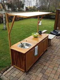 Best Outdoor Cabinets Images On Pinterest Outdoor Kitchen - Outdoor kitchen sink cabinet