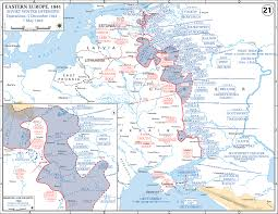 World Map Winter by Map Of Eastern Europe 1941