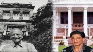 shahrukh khan house in mumbai inside and outside king house