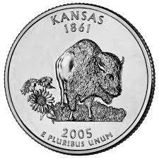 State Quarters Map by Kansas State Quarter U S Mint