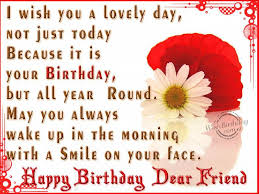 Happy Birthday Wishes To Sms Best Happy Birthday Wishes For Friend