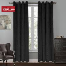 Blackout Curtains Black Hotel Style Blackout Curtains Iboo Info