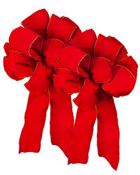 pre made wired ribbon bows balsam hill