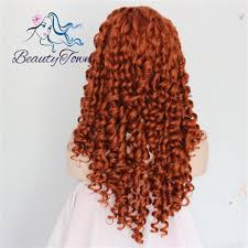 online shop synthetic lace front wig culry type heat resistant