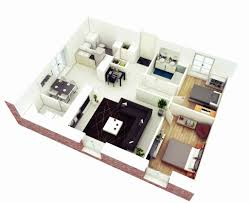 house plans and more simple 4 bedroom house plans 3d beautiful 25 more 2 bedroom 3d