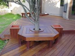 Tree Bench Ideas Wood Deck Bench Plans Building Pdf Plans Download Wooden Ideas
