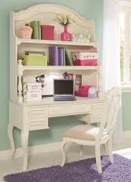 Kids Computer Desk With Hutch by Table Desk And Hutch With Built In Lighting And Corkboard By