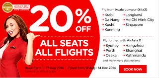 airasia singapore promo airasia promotions cheap ticket zero fare