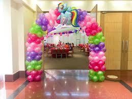 my pony balloons rina s rainbow my pony friendship is magic party by