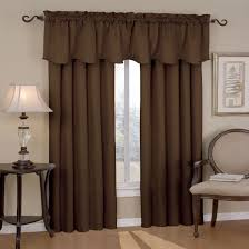 Brown Patterned Curtains Curtain Expert Tips Choosing Brown Drapes Ideas Brown Lined
