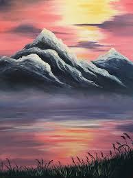 best 25 mountain paintings ideas on pinterest mountain art