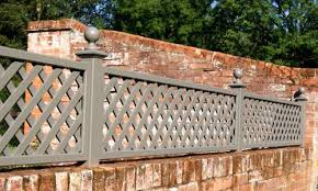 Curved Trellis Fence Panels Painted Classic Bespoke Trellis Panels Wooden Fence Trellis
