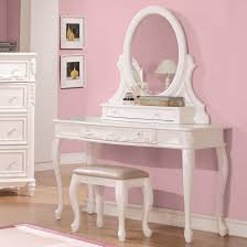 Vanity Desk Mirror Caroline 3 Pc Vanity Mirror Stool Set Cabriole Legs Coaster 400726