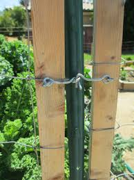 andie u0027s way fence and simple gates removes easily for gardening