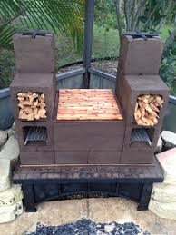 Diy Patio Furniture Cinder Blocks Firewood Stacking Racks Holds 1 Cord Per Row Made With 3 Cinder