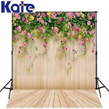 wedding backdrop font 10x10ft kate flower vine wood photography backdrops flower wood