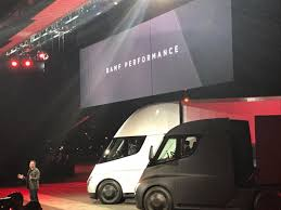 electric semi truck tesla just unveiled its first electric semi u2014 and it looks like a