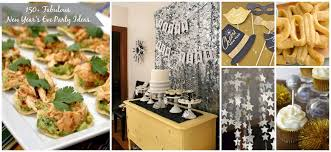 New Years Eve Food Decorations by A Glimpse Inside 150 New Year U0027s Eve Party Ideas