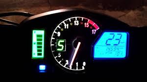 honda cbr 600s 2012 honda cbr 600rr speedometer with integrated gi ds pro gear