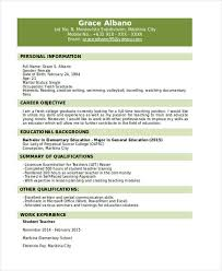 Example Of Resume For Fresh Graduate Information Technology by 31 Resume Format Free Word Pdf Documents Download Free