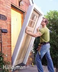Hanging Exterior Doors Install An Exterior Door Plano Handyman