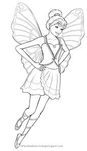 barbie mariposa coloring pages kids coloring ideas